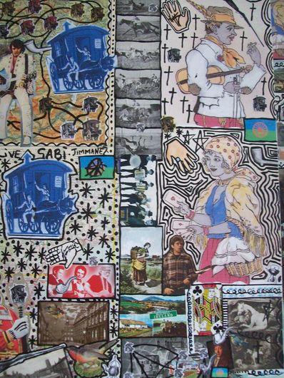 Damian Le Bas: <em>Tryptic Elvic 2 of 3</em>, 2008.