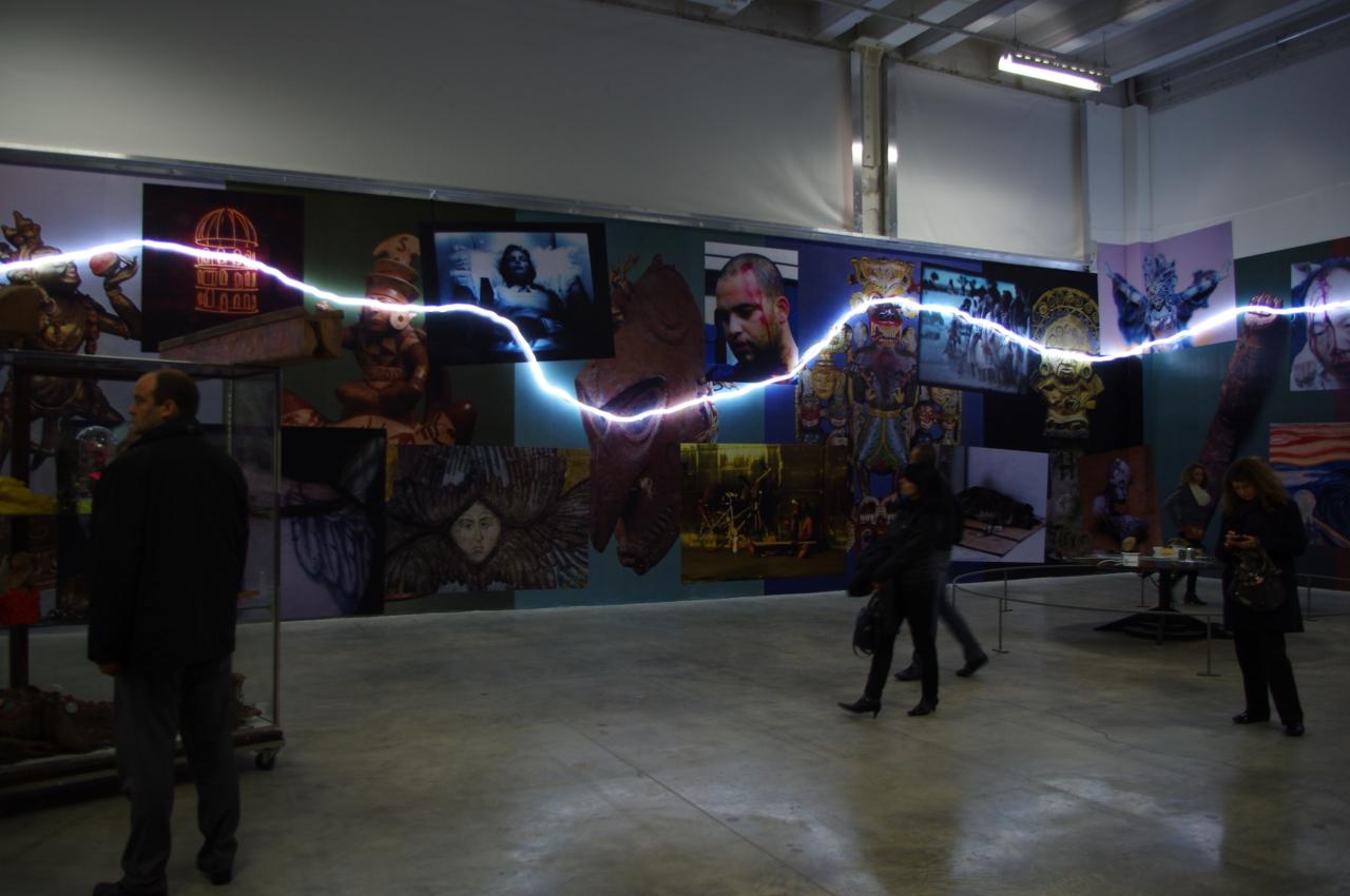 Sarkis: Frieze of War Treasures (1974-2012). <em>Intense Proximity</em>. La Triennale, Palais de Tokyo (2012)