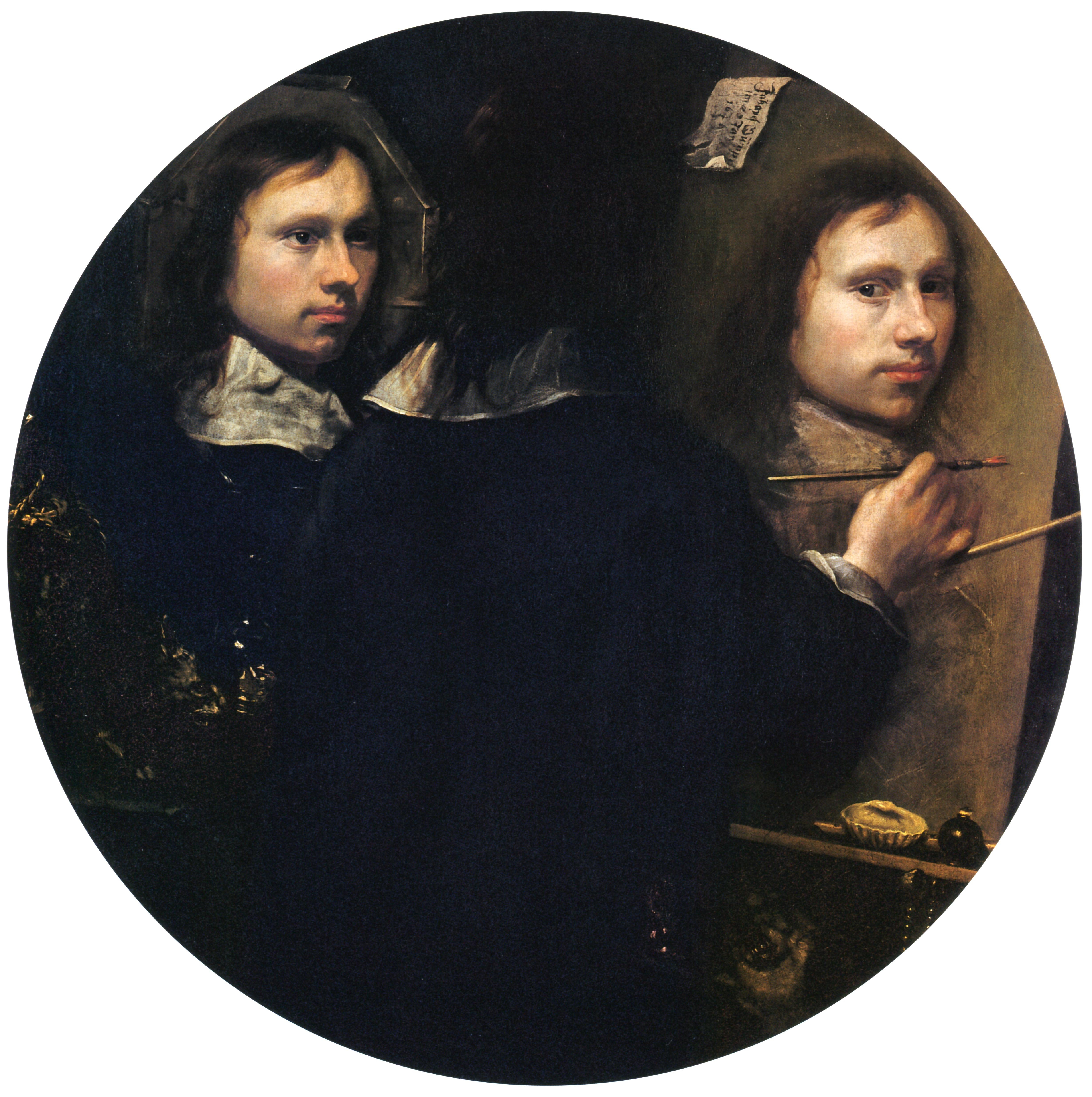 Johannes Gumpp (?): <em>Önarckép</em>, 1646. Uffizi – Önarckép Gyűjtemény, Firenze.