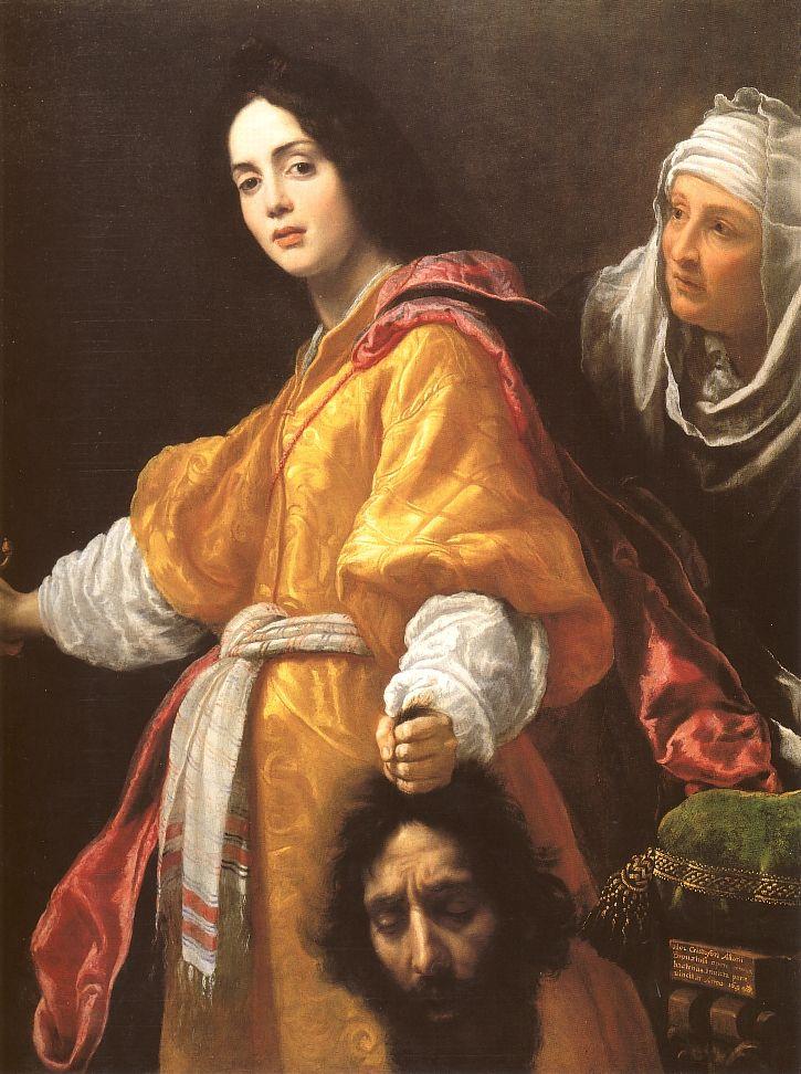Cristofano Allori: <em>Judit Holofernes fejével</em>, 1613. A Királynő Gyűjteménye, London.