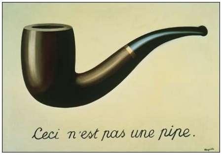 René Magritte: <em>Ez nem pipa</em> (<em>Ceci n'est pas une pipe</em>, 1926)