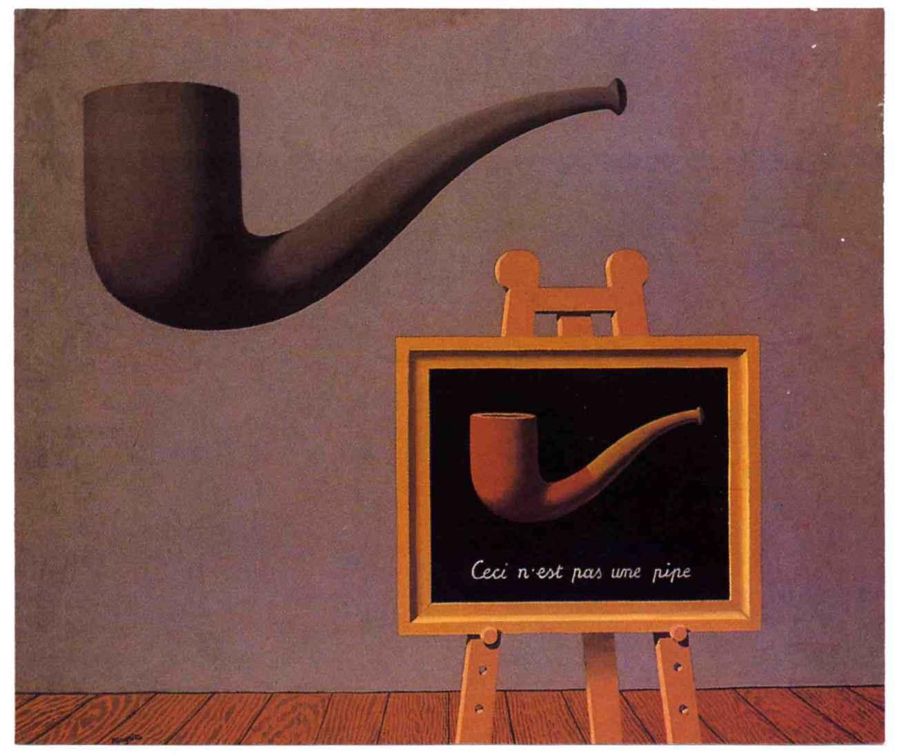 René Magritte: <em>Les Deux Mystères</em> (1966)