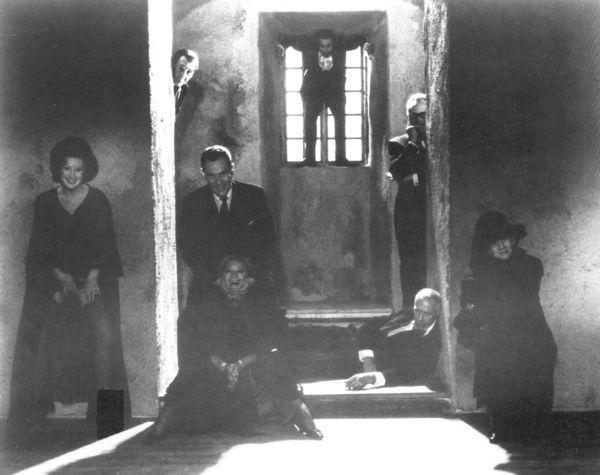 A Farkasok...és egyben Johan Borg démonjai. <em>Farkasok órája</em> (<em>Vargtimmen</em>. Ingmar Bergman, 1968)