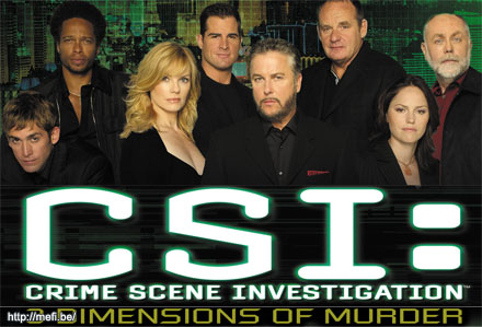 CSI: A helyszínelők: amerikai-kanadai krimisorozat (2000-)