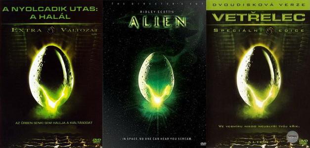 <em>A nyolcadik utas: a Halál</em> (<em>Alien</em>. Ridley Scott, 1979)