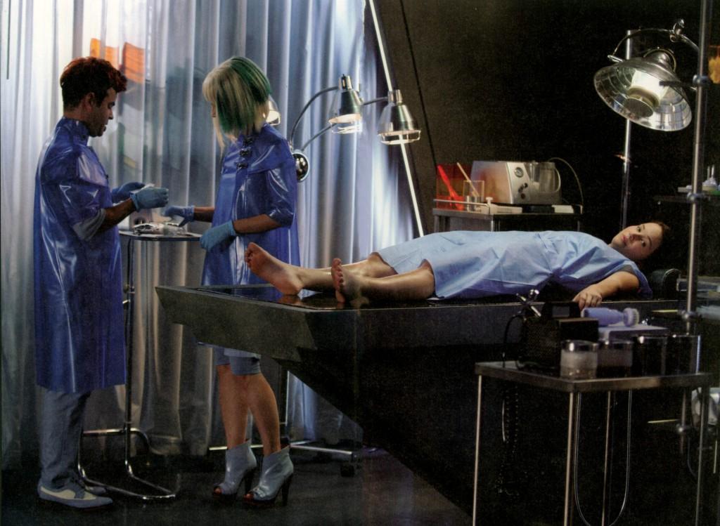 Katniss az Átalakító Központban.