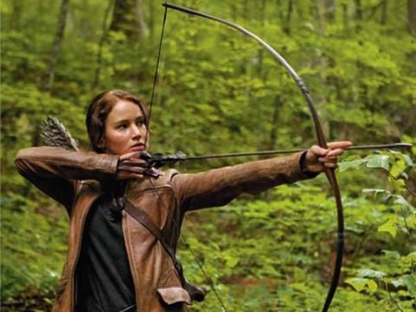 Katniss, a vadász.