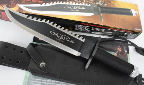 A Rambo-kés egyik limitált szériás darabja