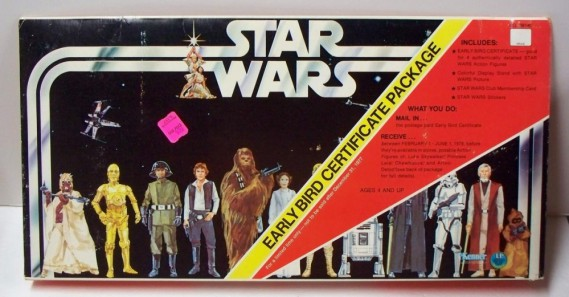 Star Wars Early Certificate Package