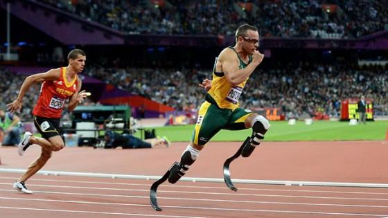 Oscar Pistorius versenyen